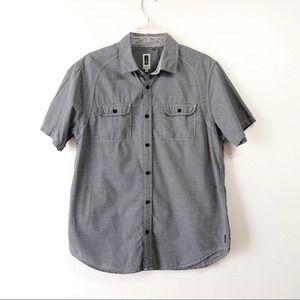 Men's Howe Button Down Short Sleeve Shirt Medium